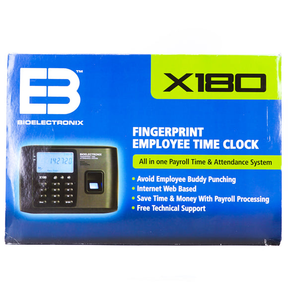X180 Employee Time Clock