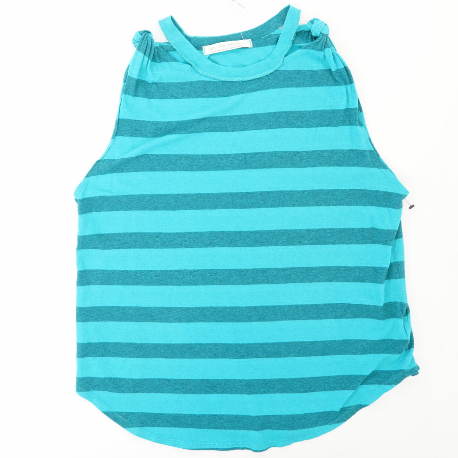 Striped Sleeveless Tank Size L