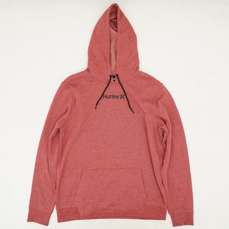Red Draw-String Hoodie Size L