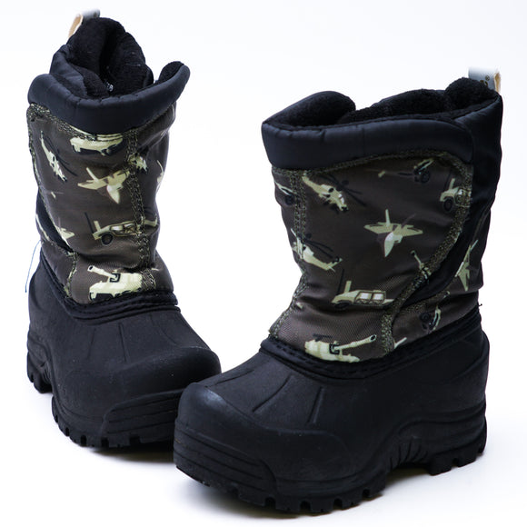 Flurrie Snow Boot Camo Size 5T