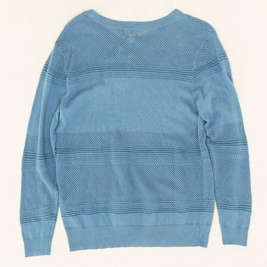 Rowan Textured Cotton Pullover - Size M
