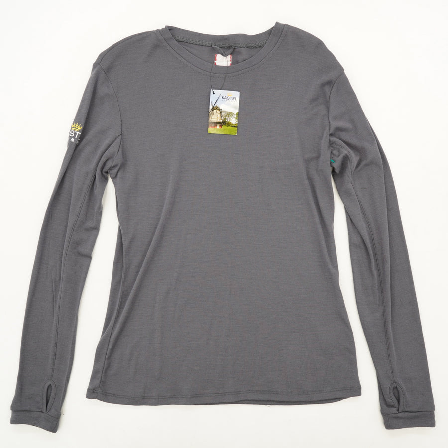 Merino Wool Blend Long Sleeve Size S