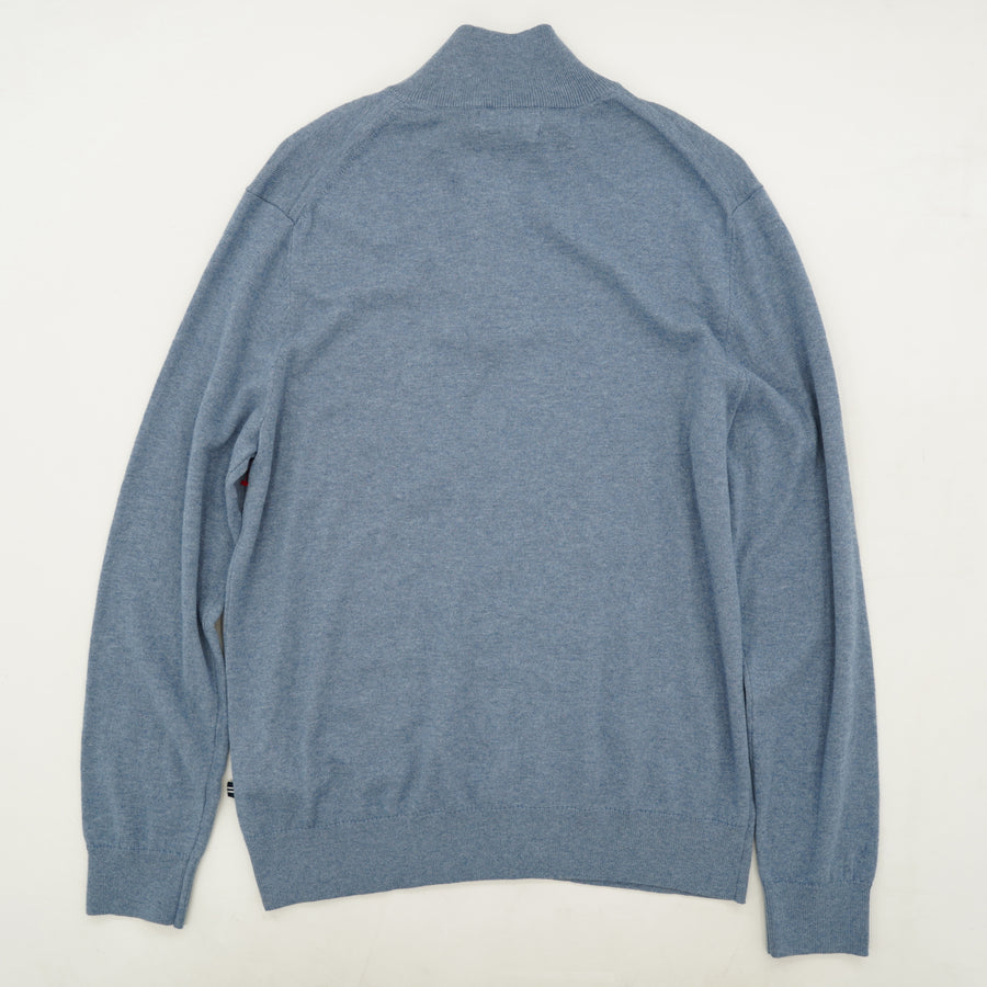 Quarter Zip Pull Over Sweater Size M