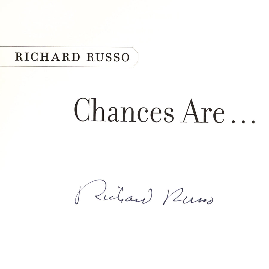Autographed Copy of Chances Are...