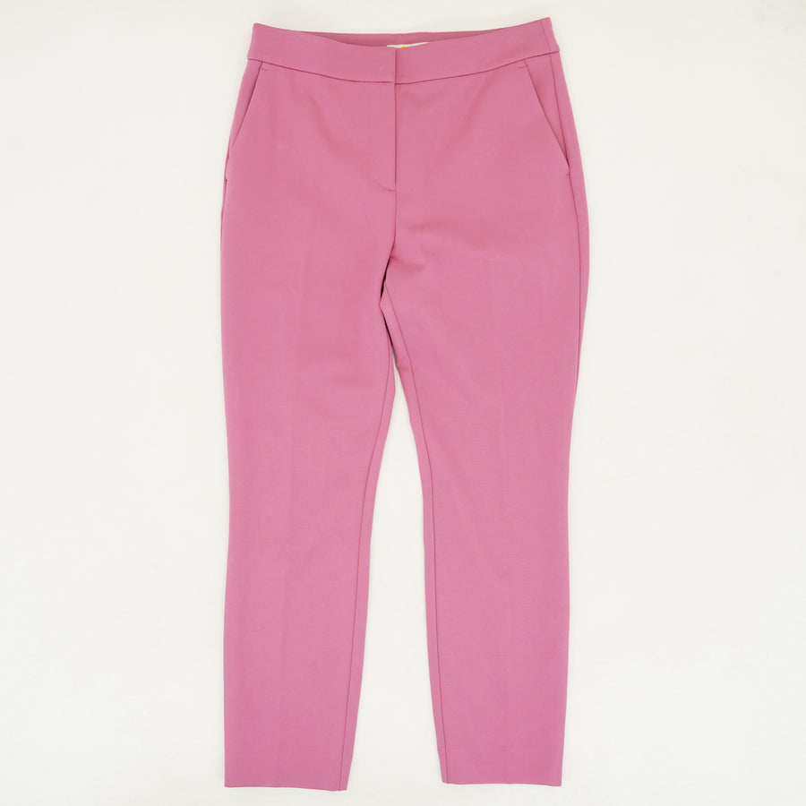 Pink Slim-Fit Slacks Size 8