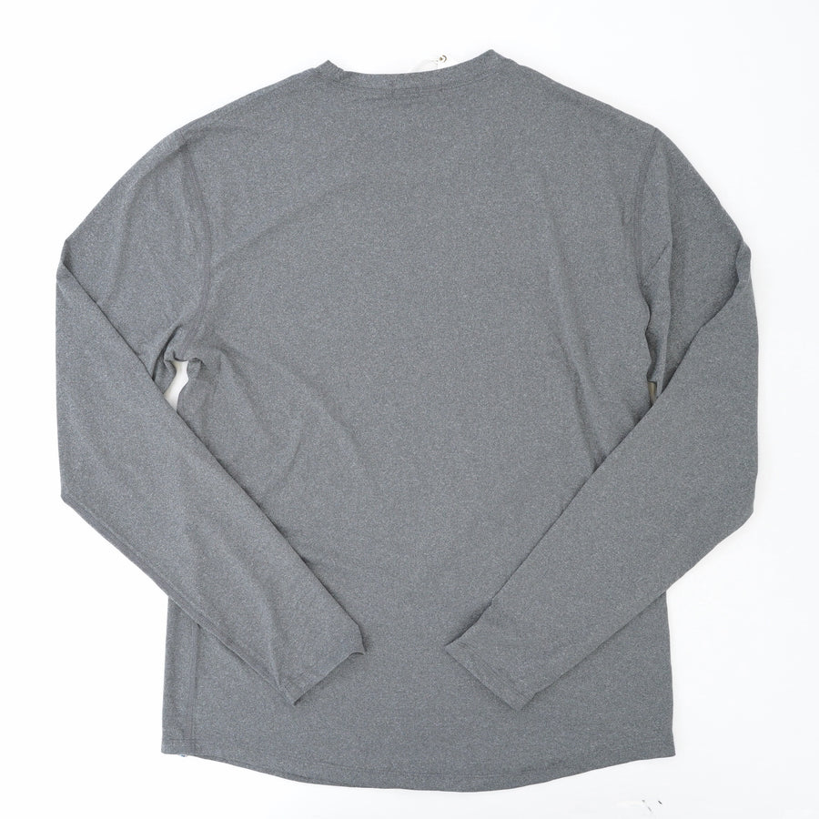 Long Sleeve ML Sport Crew Anthracite Shirt Size M