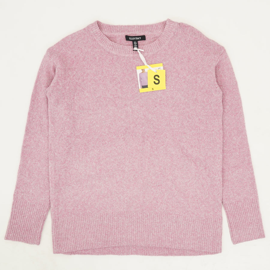 Crewneck Sweater in Mulberry Heather Size S