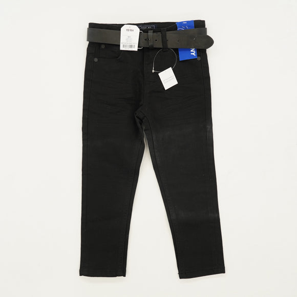 Black Skinny Jeans With Belt Size 4