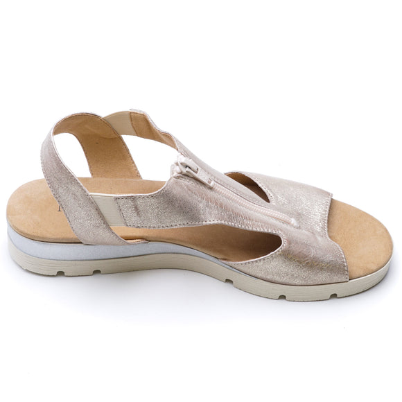 Seldred-Platino Sandals