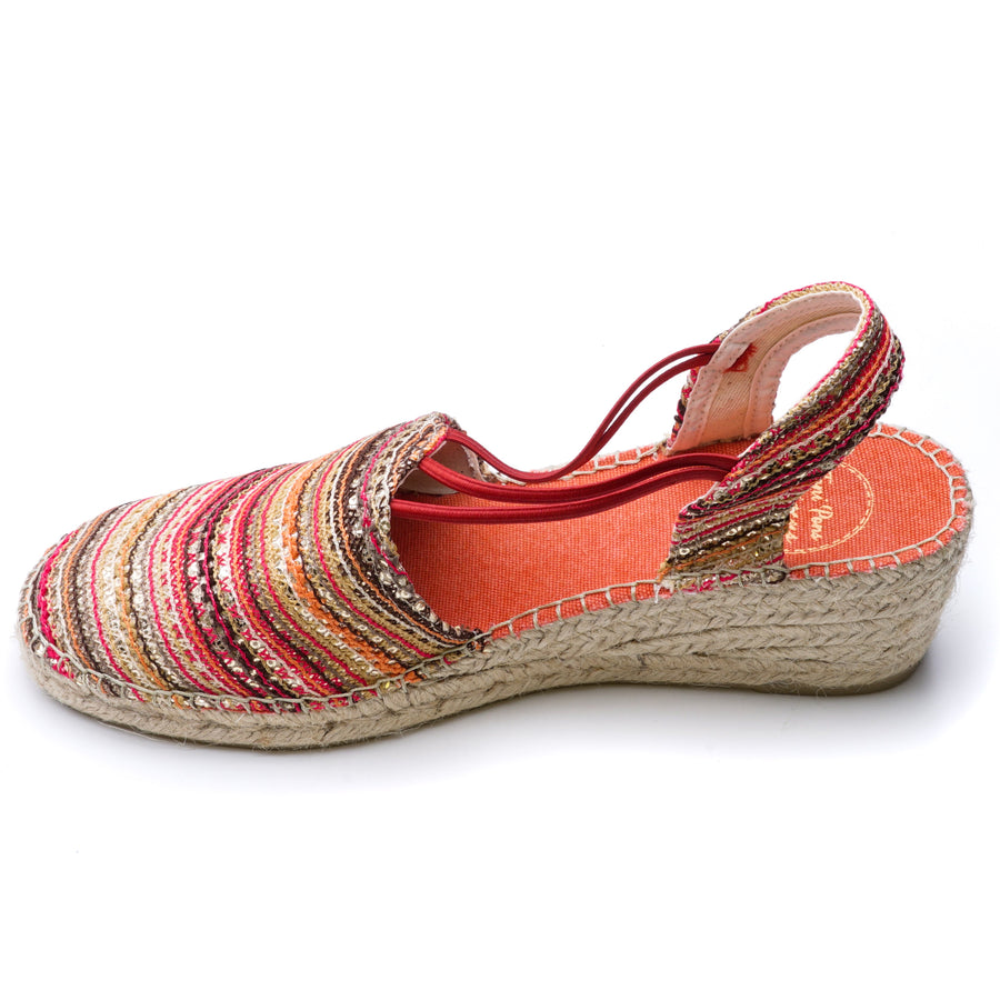 Tania-Coral Sandals