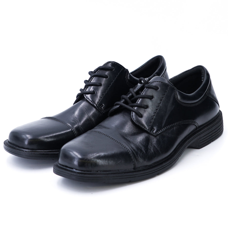 Black Leather Dress Shoes Size 9