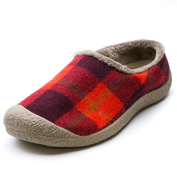 Howser ll Slipper Red Plaid