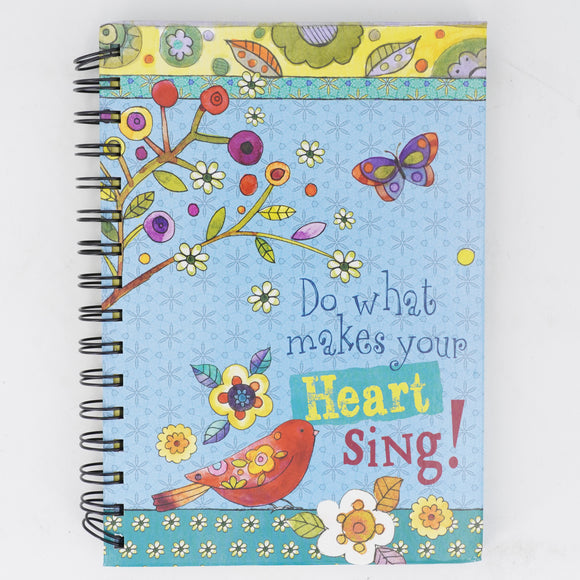"""Do What Makes Your Heart Sing"" Notebook"