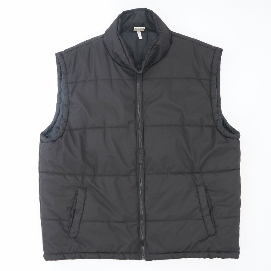 Zip-Up Puffer Vest Size L
