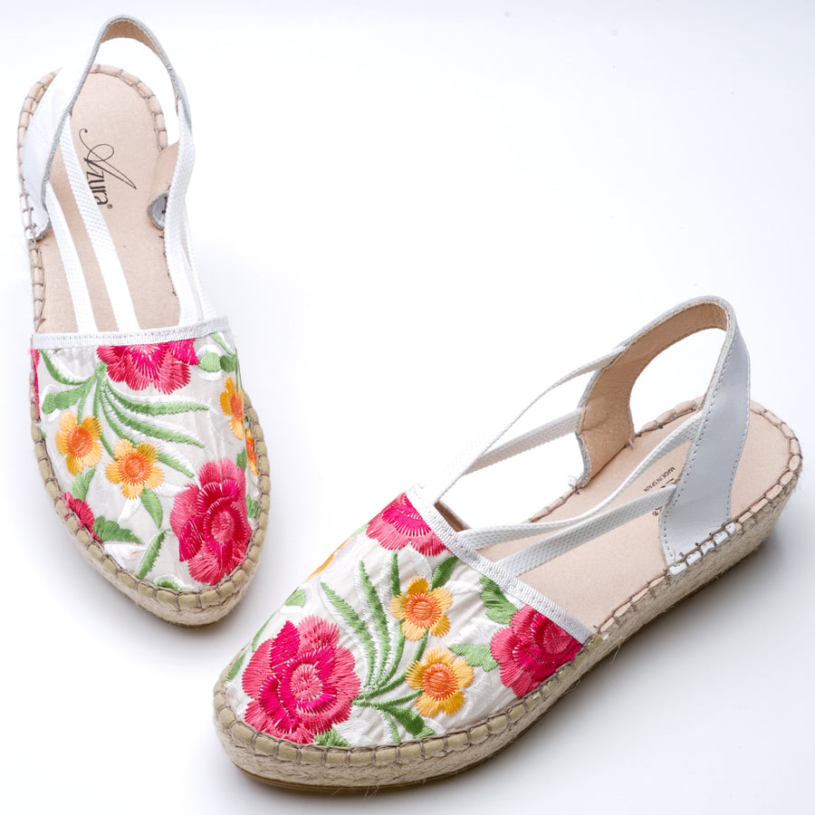 Haleema-White Sandals Size 35