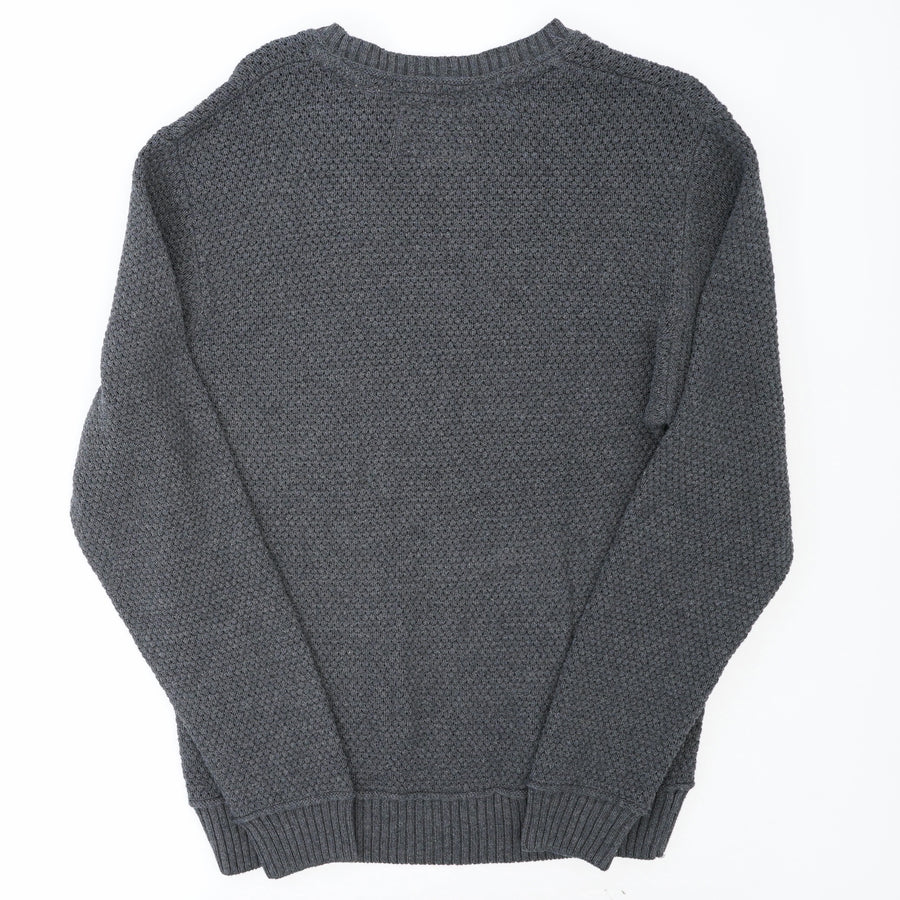 Crew Neck Knit Sweater Size L
