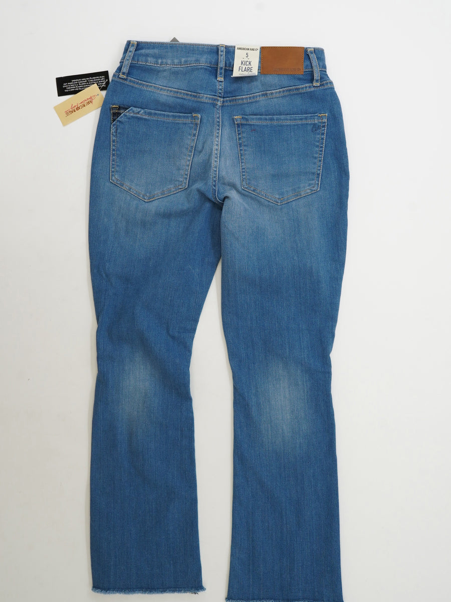 Kick Flare High Rise Jeans Size 5