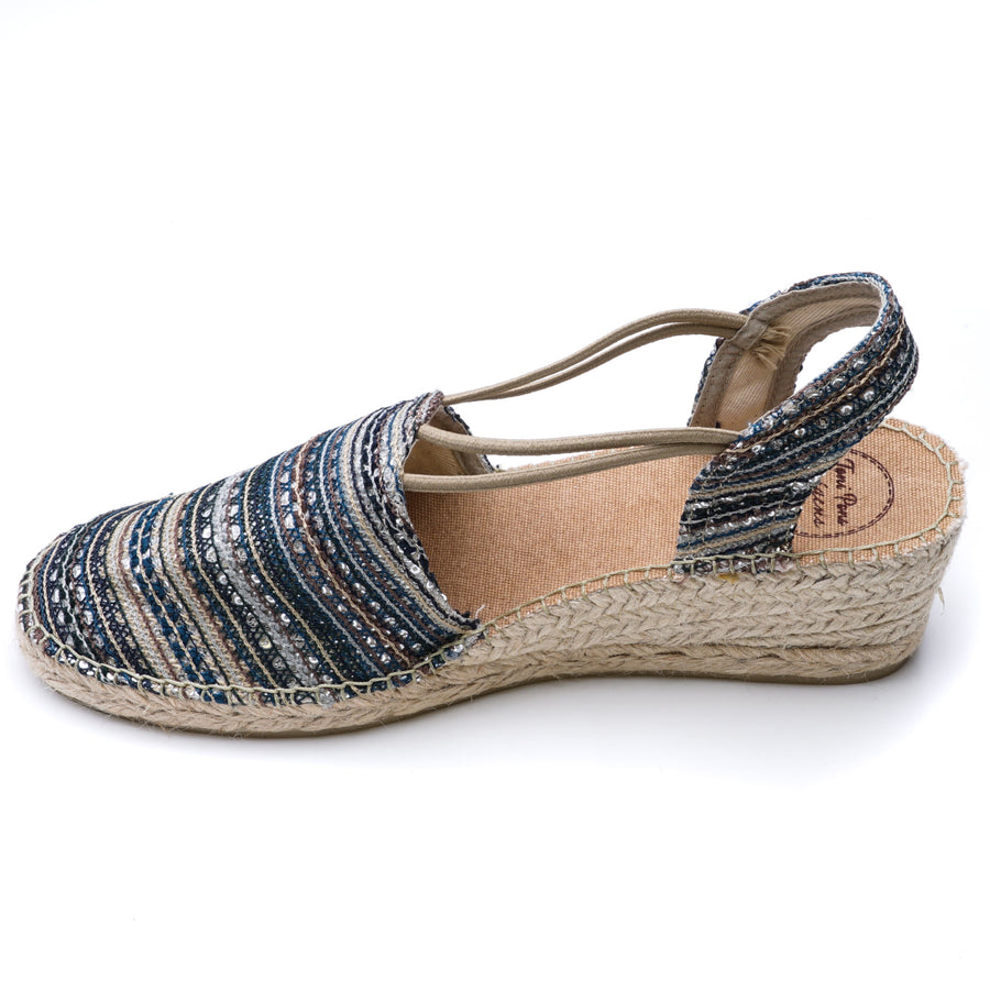 Tania-Taupe Sandals Size 42