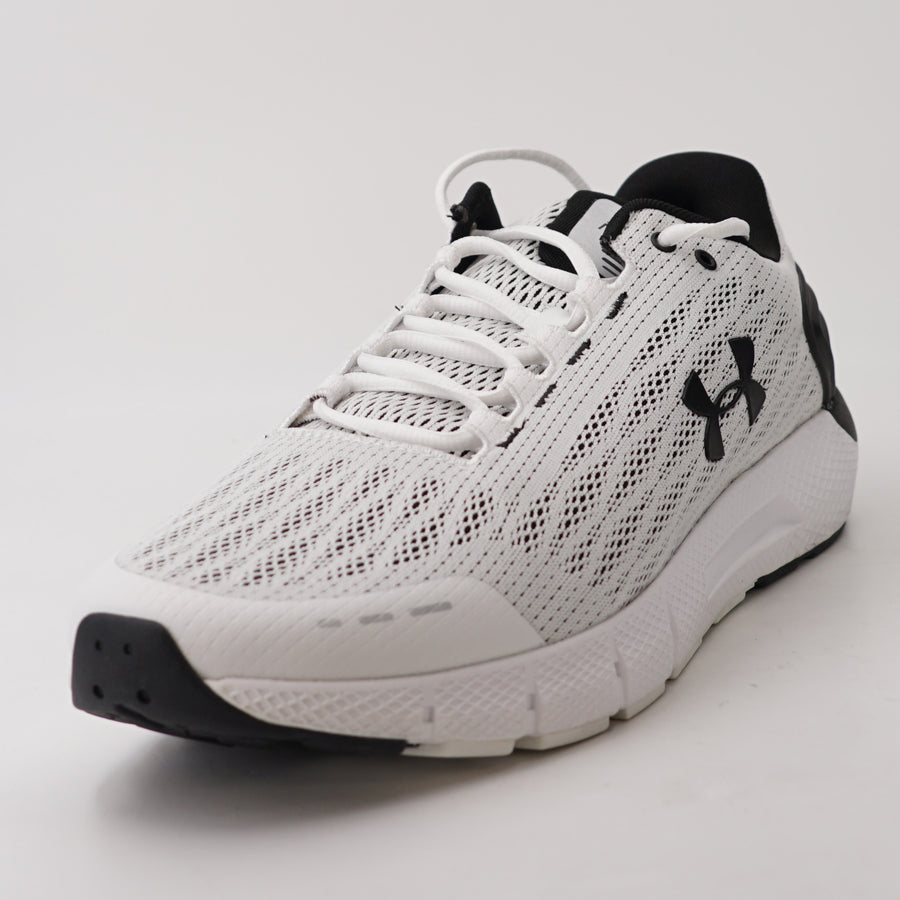 Charged Rouge Running Shoe White & Black Size 15