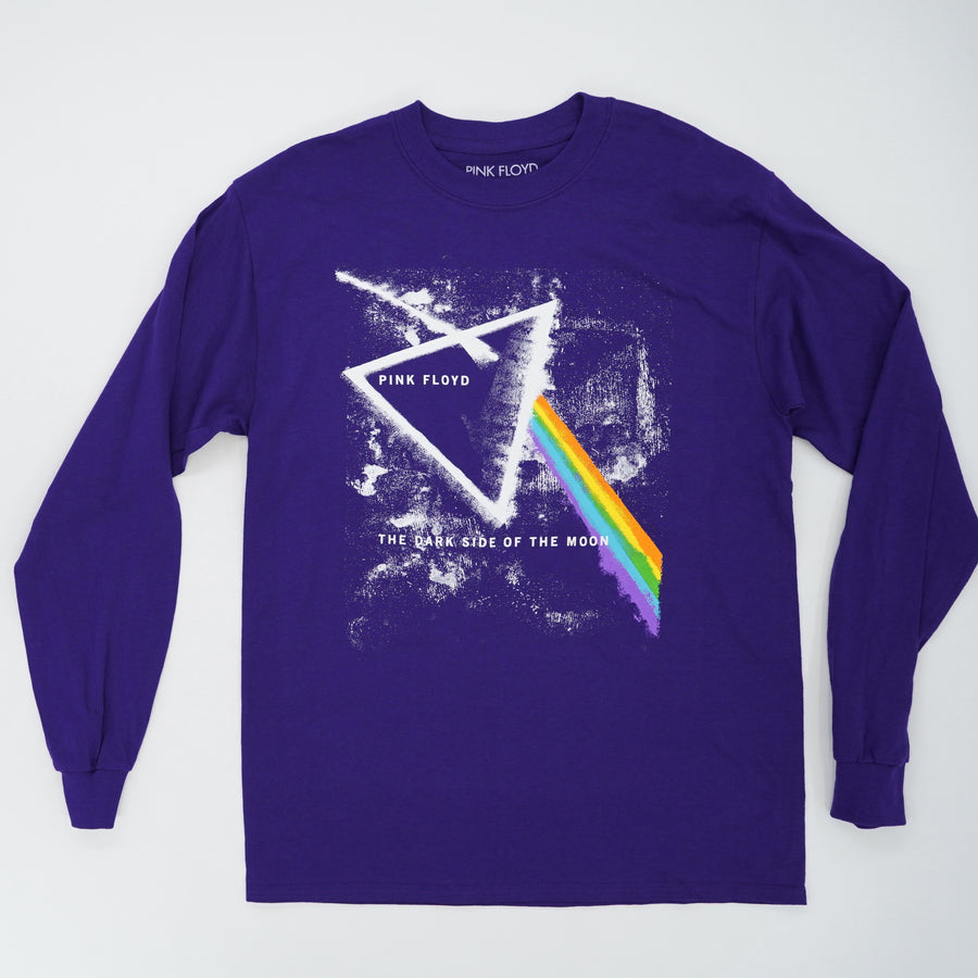 Dark Side Of The Moon Long Sleeve Tee Size S