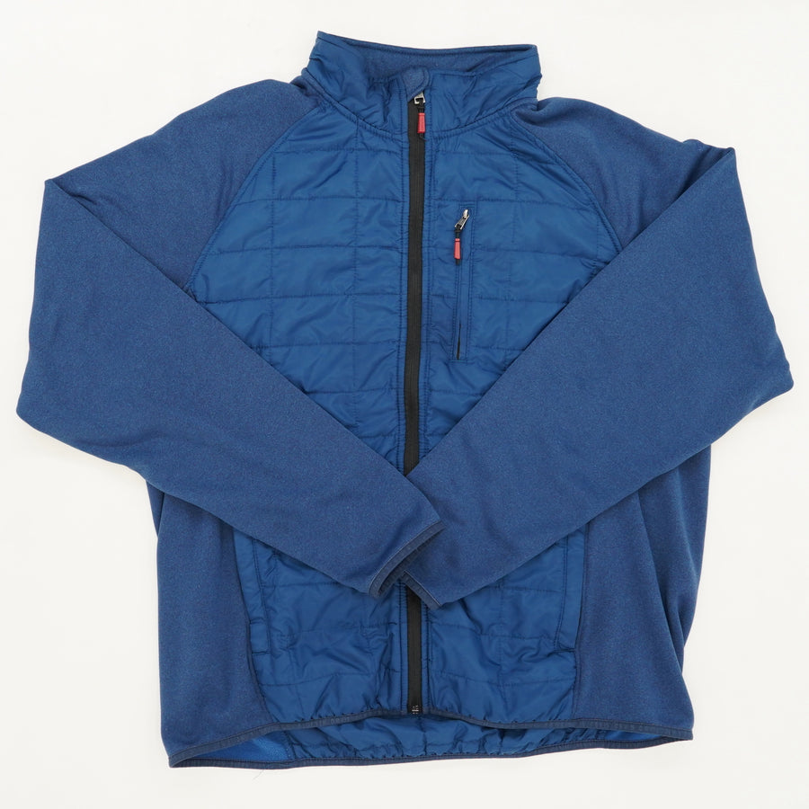 Blue Quilted Jacket Size XL