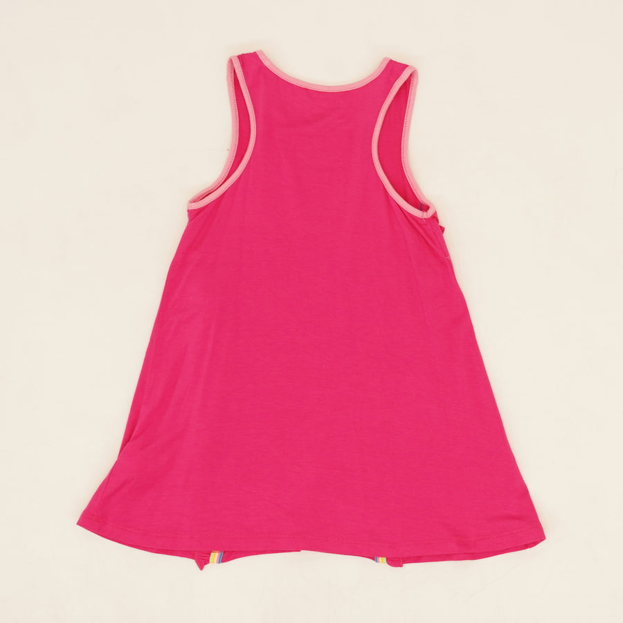 Watermelon Swirl Sleeveless Dress Size 2T