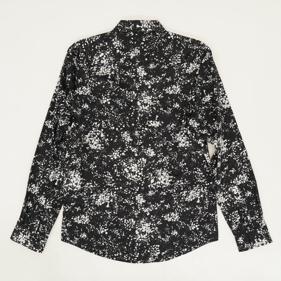 LS Party Shirt in Black Combo - Size S