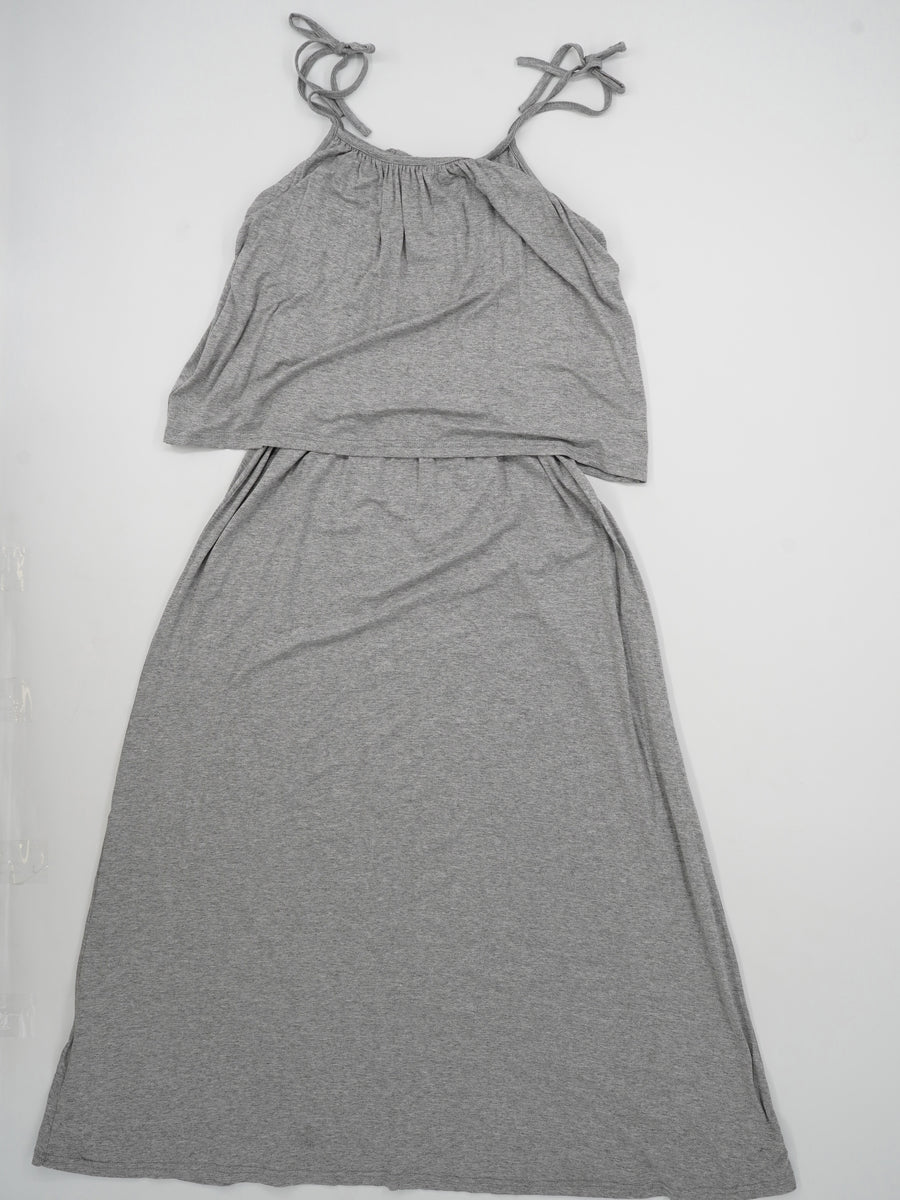 Layered Spaghetti Strap Dress Size OS
