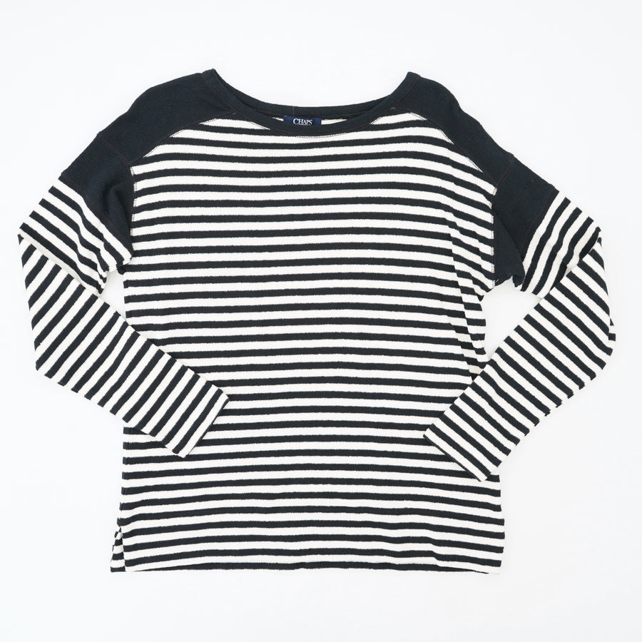 Black Striped Sweater Size S