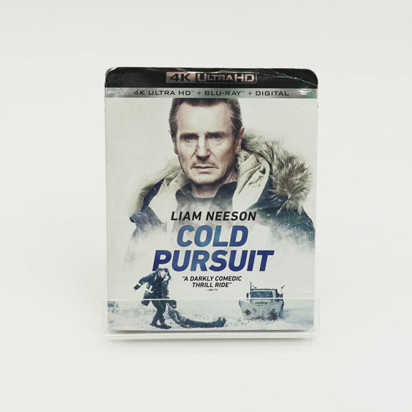 Cold Pursuit Blu-ray