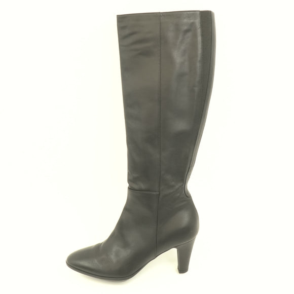 Leather Knee High Boots Size 9