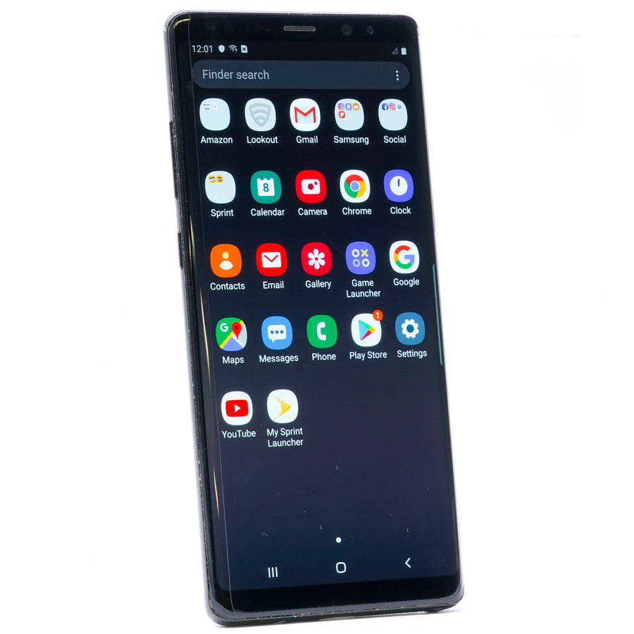 Galaxy Note 8 64GB Sprint Midnight Black
