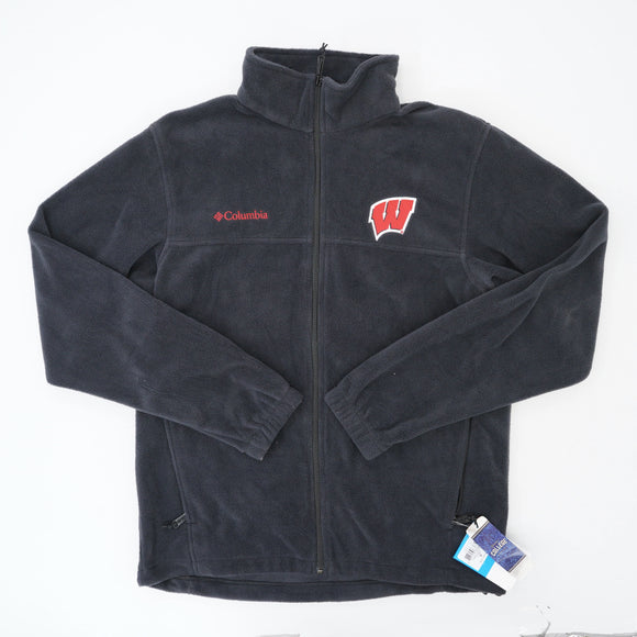 Collegiate Flanker Full Zip Fleece Jacket Size M