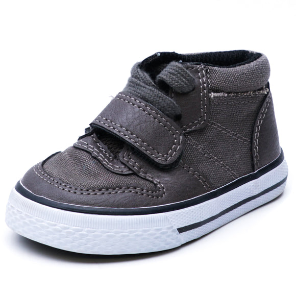 Boys' Gray High Top Sneakers Size 4T