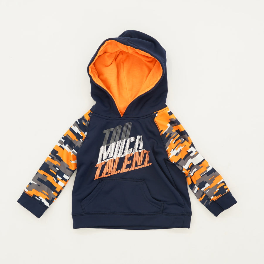 """Too Much Talent"" Hoodie Size 3-6M"