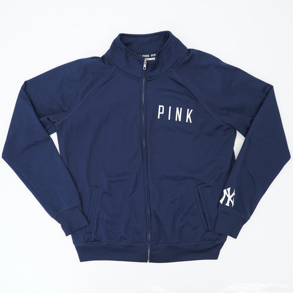 New York Yankees Baseball Zip-Up Jacket Size L