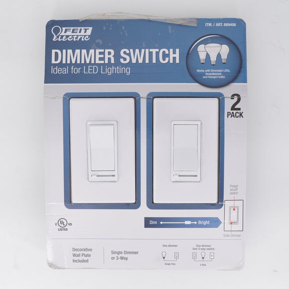 Dimmer Light Switch 2 Pack
