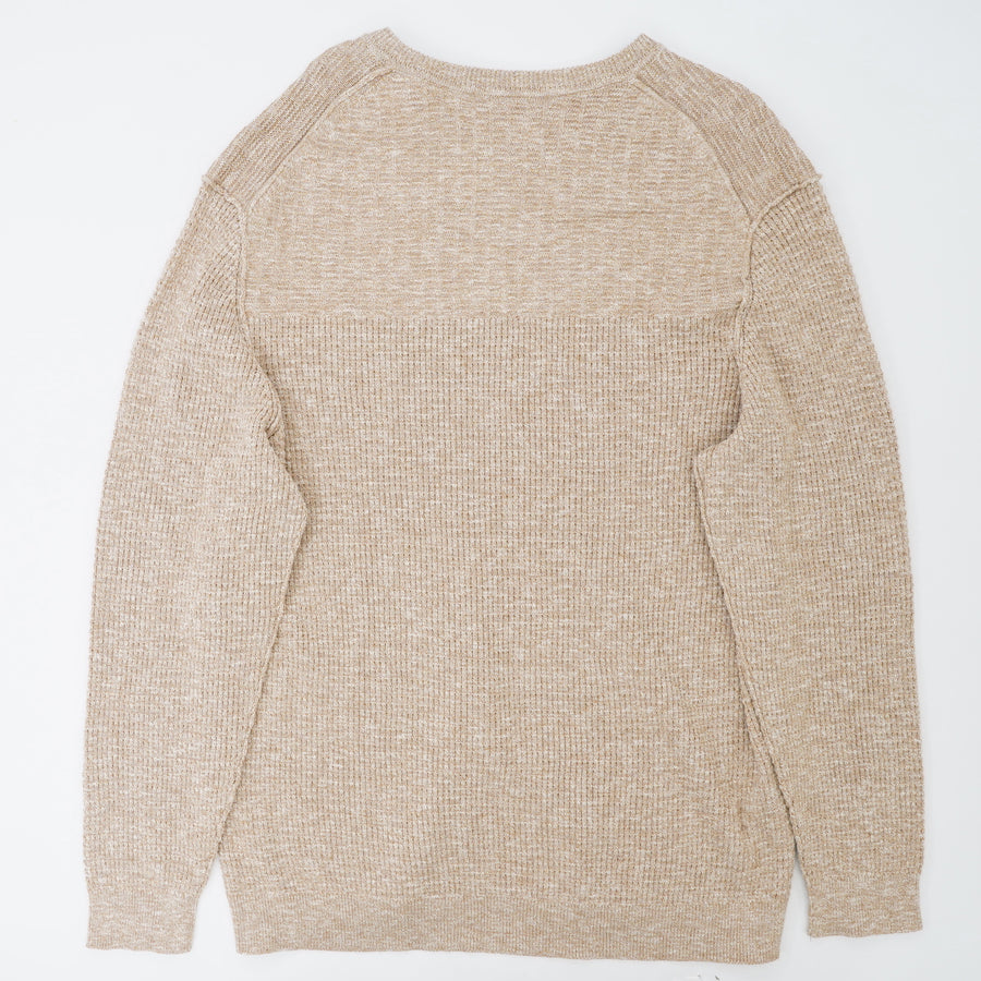 Golden Honey Waffle Sweater Size 3XL