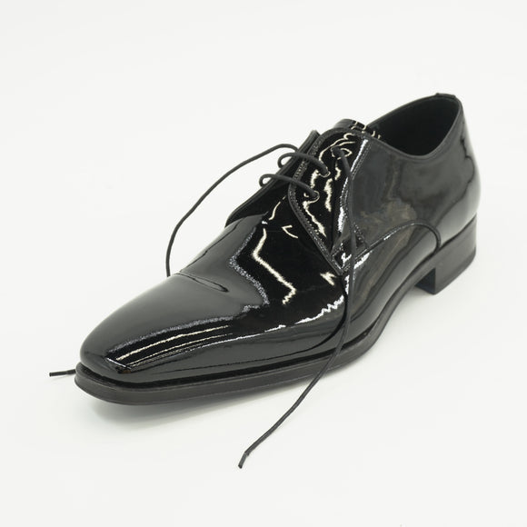 Dante Black Patent Dress Shoes Size 11.5