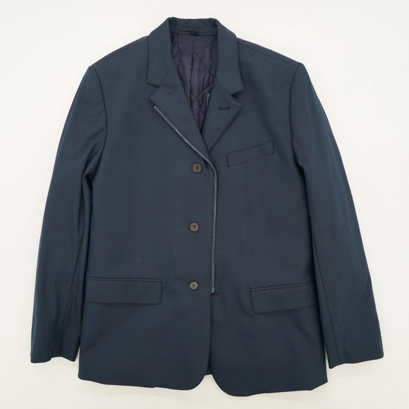 Navy Destination Stretch Blazer Size M
