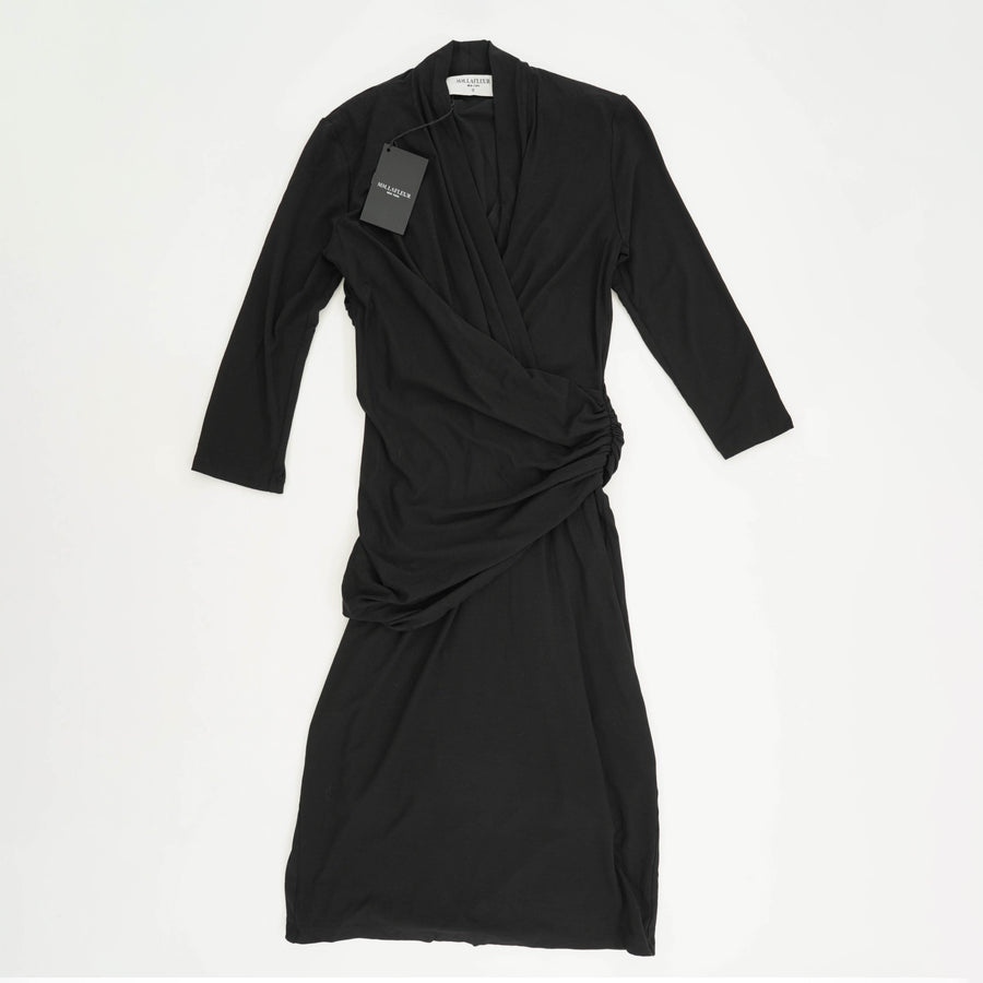 Black Side Scrunch Dress Size XS