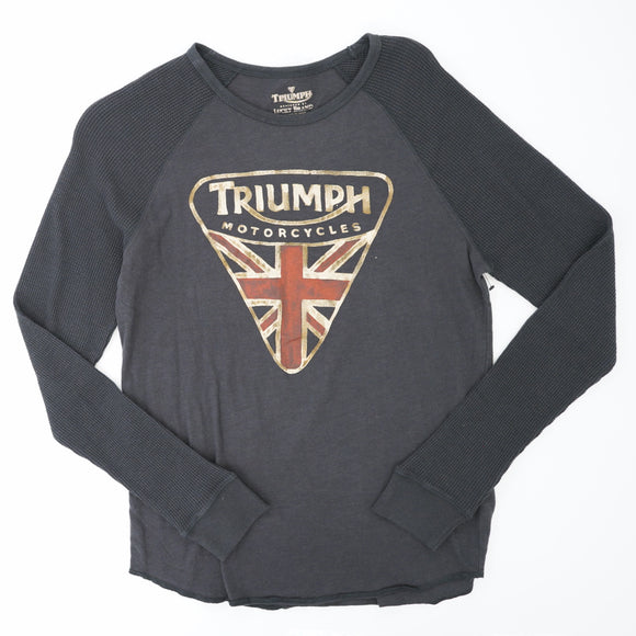 Triump Motorcycles Thermal Tee Shirt Size M