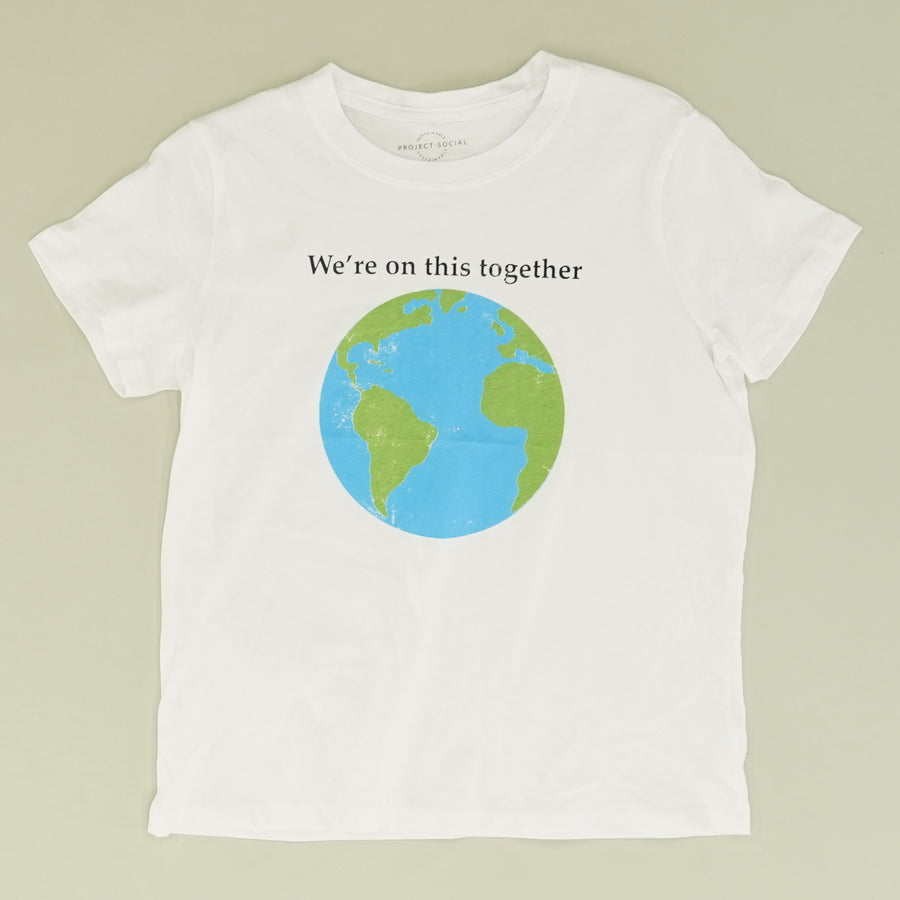 """We're on this Together"" Graphic Tee - Size XS, S, M"