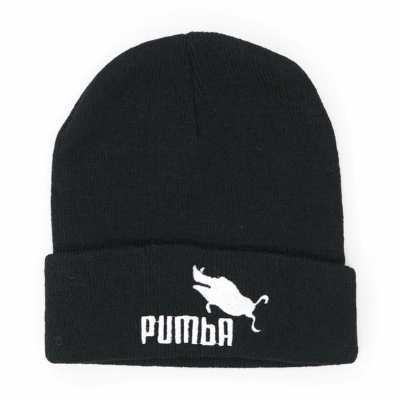 Pumba Embroidered Beanie