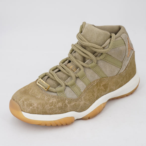 Air Jordan 11 Retro 'Neutral Olive' Sneakers Size 8