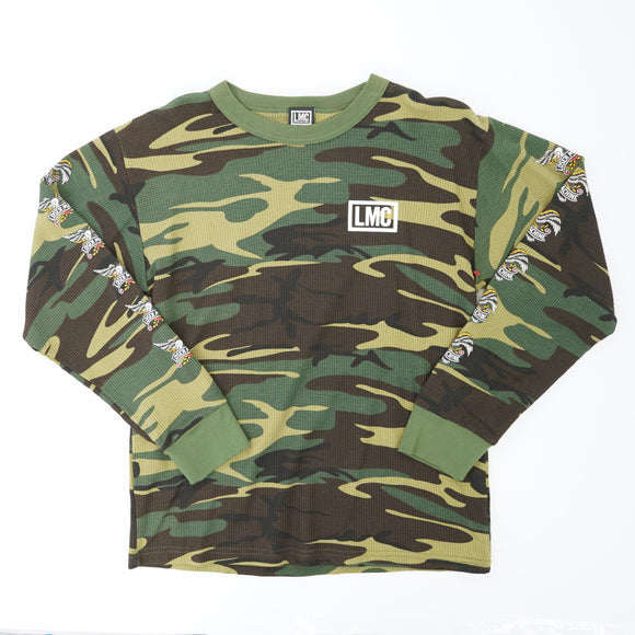 Glory Bound II Camo Thermal Shirt Size M