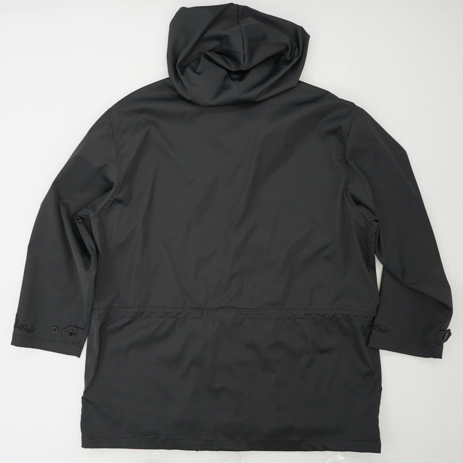 Hooded Front Zip Jacket Size L