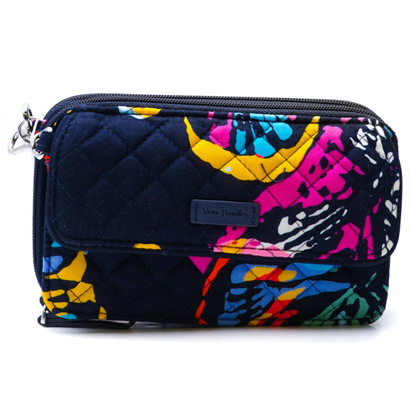 RFID All in One Crossbody in Butterfly Flutter