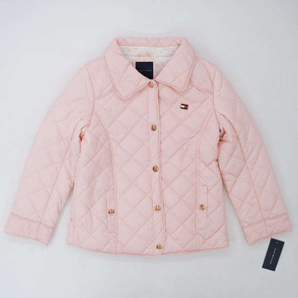Crystal Rose Barn Quilted Jacket Size 8/10