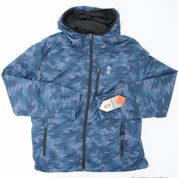 Blue Windshear Jacket